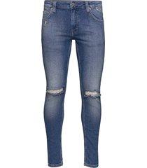 max empty blue slimmade jeans blå just junkies