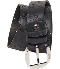 cinturón 539 negro bosi