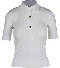 michael kors button polo sweater top-wear