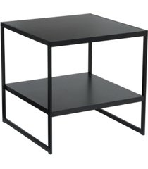 household essentials 2-tier square side table