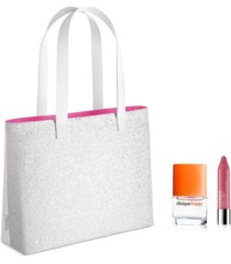 receive a free 2pc skincare gift and tote with any $55 clinique purchase!