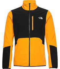 m glacier pro full z sweat-shirts & hoodies fleeces & midlayers guld the north face