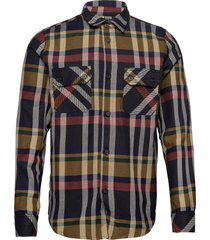 mika flannel shirt overhemd casual multi/patroon r-collection