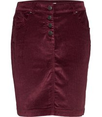 skirts woven kort kjol röd esprit casual