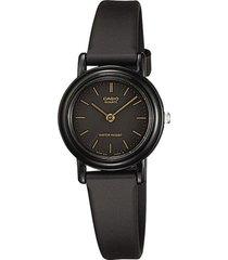 reloj analógico mujer casio lq-139a-1e - negro