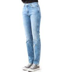 skinny jeans wrangler boyfriend best blue w27m9194o