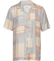 bo shirt kortärmad skjorta blå holzweiler