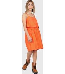 vestido naranja montjuic giglio