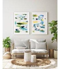 komplet obrazów 30x40 akryl obraz abstrakcja