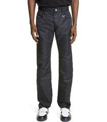 men's 1017 alyx 9sm nylon pants, size 30 us/ 46 eu - black