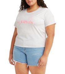 levi's trendy plus cotton graphic t-shirt