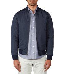 men's alton lane mitchell water resistant reversible jacket, size xx-large r - blue