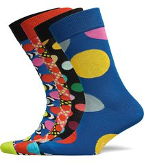 4-pack classic dots socks gift set underwear socks regular socks multi/mönstrad happy socks