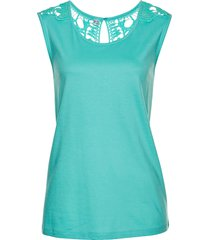 top con pizzo (verde) - bpc selection
