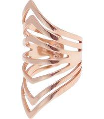 women's ragen jewels hexagon ear cuff