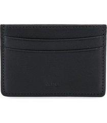 a.p.c. card holder - lzz noir black