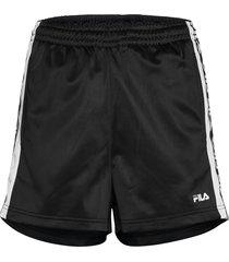 women tarin shorts - high waist shorts flowy shorts/casual shorts svart fila