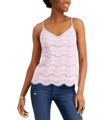 love, fire juniors' lace camisole top
