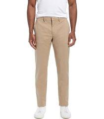 men's nordstrom non-iron flexweave men's chino pants, size 32 x 32 - brown