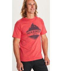 polera mono ridge ss rojo marmot