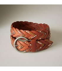 women's barracuda leather belt