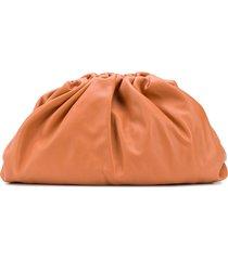 bottega veneta the pouch clutch bag - brown