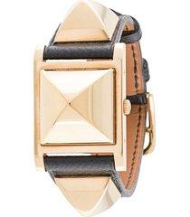hermès pre-owned medor wrist watch - black