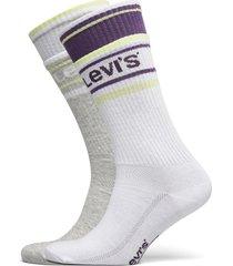 levis unisex double welt regular cu underwear socks regular socks lila levi´s