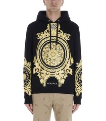 versace barocco hoodie