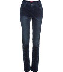 pantaloni in velluto elasticizzato slim (blu) - john baner jeanswear
