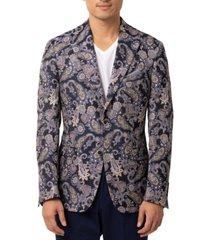 tallia men's paisley slim fit blazer