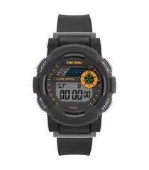 relógio digital mormaii masculino - mo9081aa/8l preto