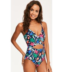 secret garden soft cut out tummy control one-piece swimsuit