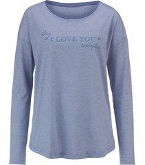 pyjamas blue moon jeansblå/gammalrosa