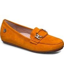 parma buckle loafers låga skor orange novita