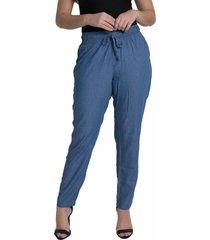 calã§a denuncia pijama z 24095 un azul - azul - feminino - dafiti