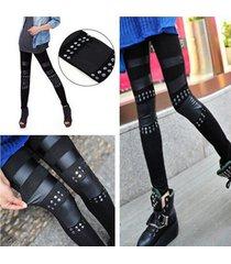 leather leggings for women winter spring