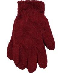 guantes rojo trendy