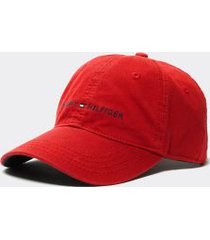 tommy hilfiger women's hilfiger cap apple red -