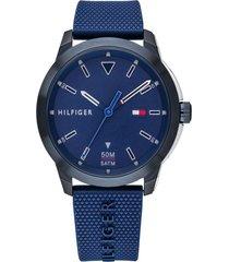 reloj azul tommy hilfiger 1791621 - superbrands