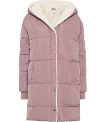 cappotto imbottito invernale oversize (rosa) - rainbow