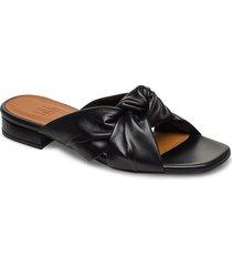 slipper 4022 shoes summer shoes flat sandals svart billi bi