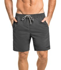 pantaloneta larga hawai gris