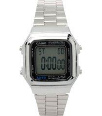 reloj casio retro digital unisex a-178wa-1a