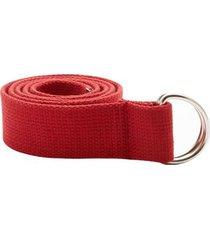 reata roja color rojo, talla uni