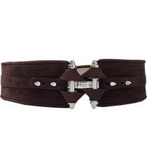 chocolate obsedia waist belt