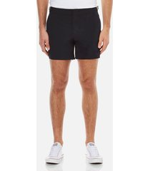 orlebar brown men's setter swim shorts - black - w32
