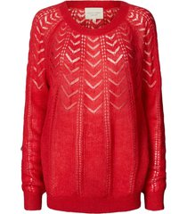 lollys laundry dames billy jumper trui rood