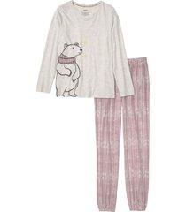 pigiama in cotone biologico (bianco) - bpc bonprix collection