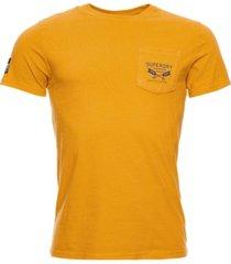 superdry men's workwear pocket t-shirt